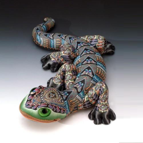 Gecko Papa Figurine