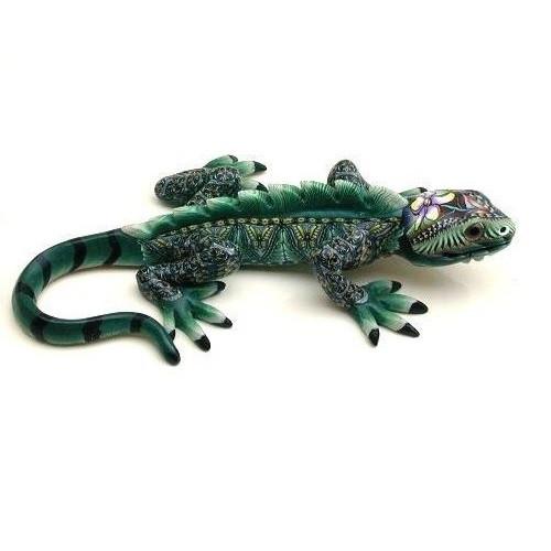 Iguana Baby Figurine