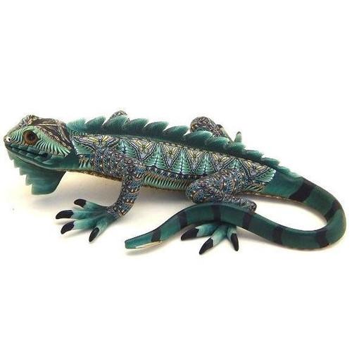 Iguana Papa Figurine