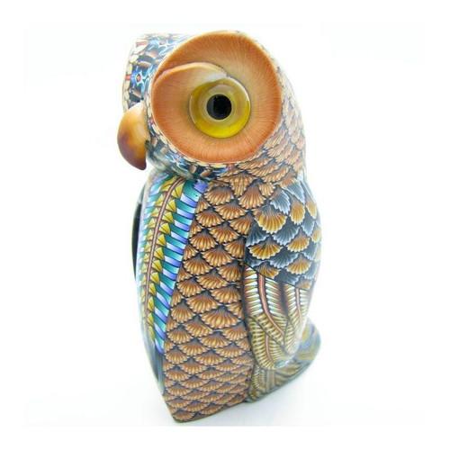 Owl Mama Figurine