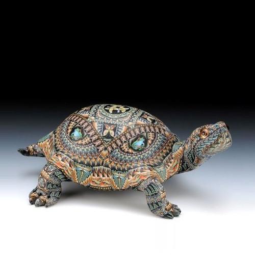 Turtle Baby Figurine