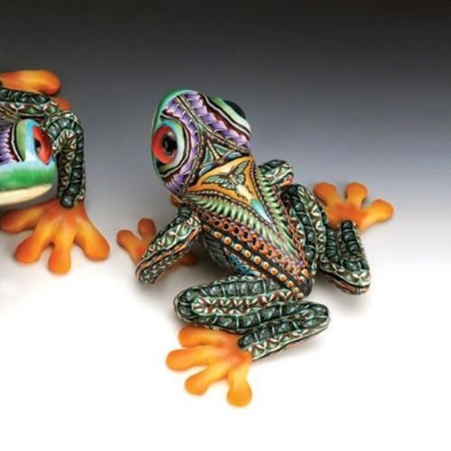 Tree Frog Mama Figurine