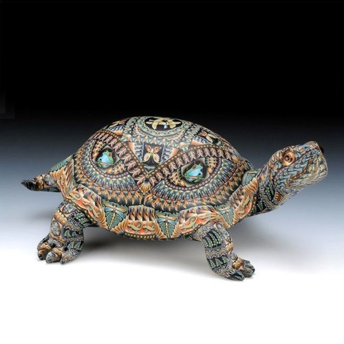 Turtle Mama Figurine
