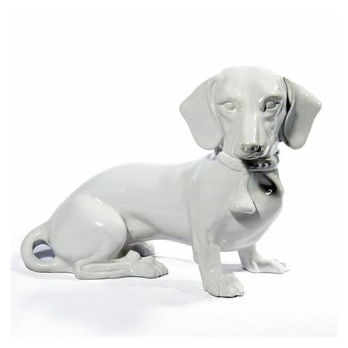 Dachshund Ceramic Sculpture
