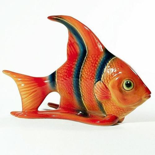 Angelfish Ceramic Sculpture