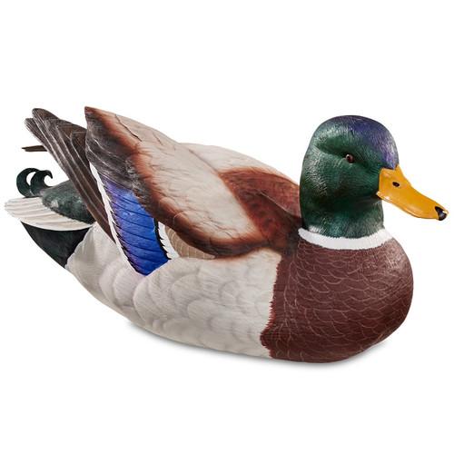 Swan Lake Mallard Drake Duck Sculpture