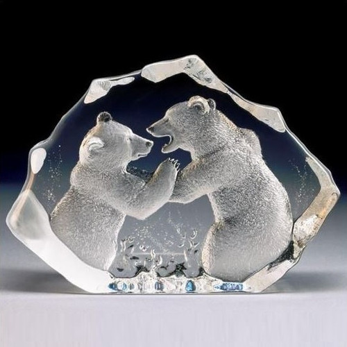 Bears LTD ED Crystal Sculpture | 13306