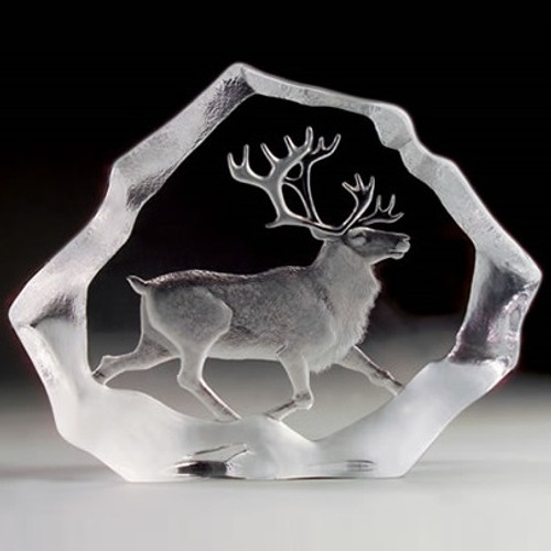 Reindeer LTD ED Crystal Sculpture | 33126