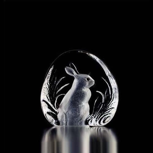 Rabbit Crystal Sculpture | 33281