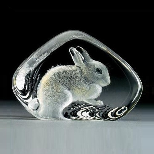 Rabbit Crystal Sculpture | 33738