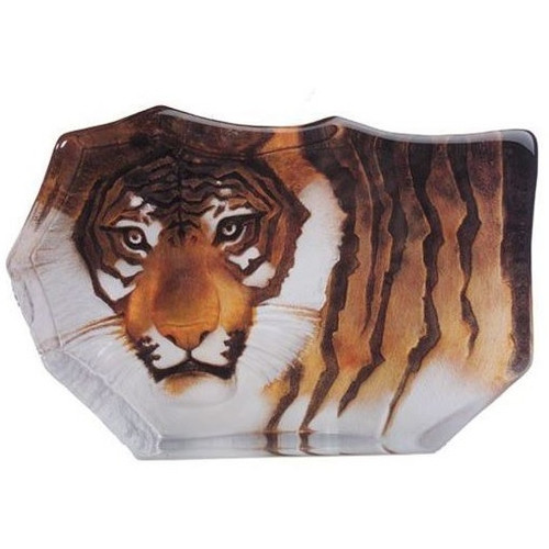Tiger Crystal Painted Small Sculpture | 33850