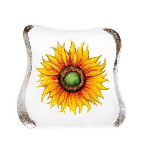Yellow Sunflower Crystal Sculpture | 33885