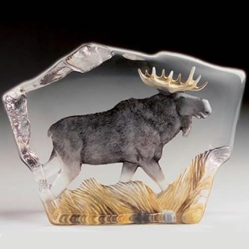 Moose Crystal Sculpture | 33888