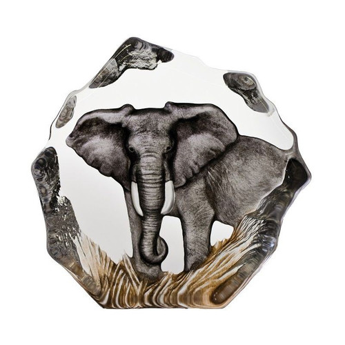 Color Elephant Crystal Sculpture | 33907