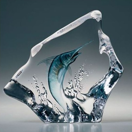 Marlin Crystal Sculpture | 33954