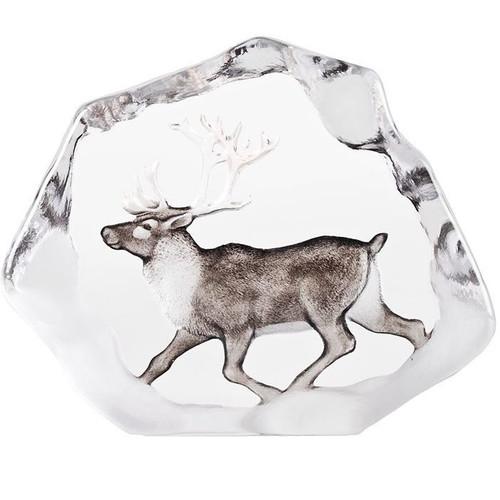 Reindeer Wildlife Crystal Sculpture | 34067