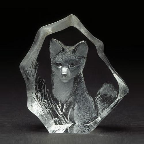 Baby Fox Crystal Sculpture | 88132