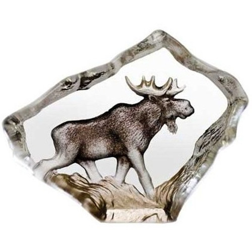 Moose Mini Crystal Sculpture   88169