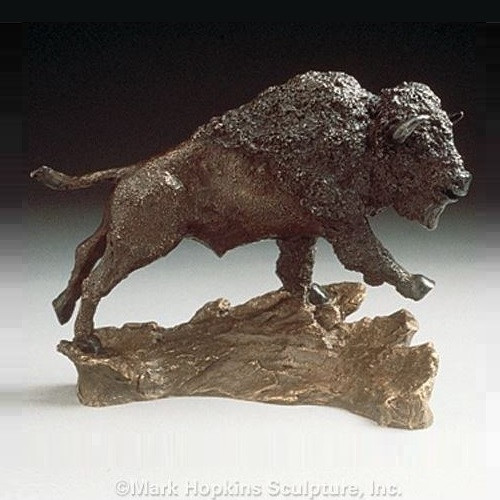 Buffalo Bronze Sculpture