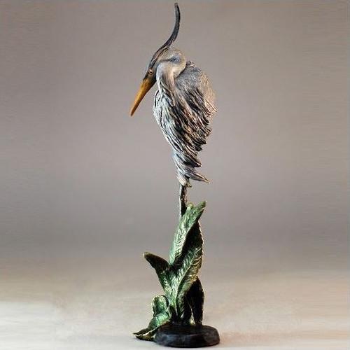 "Heron Sculpture ""Grace"" Small"