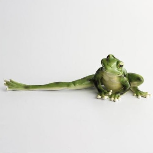 Frog Long Legged Figurine