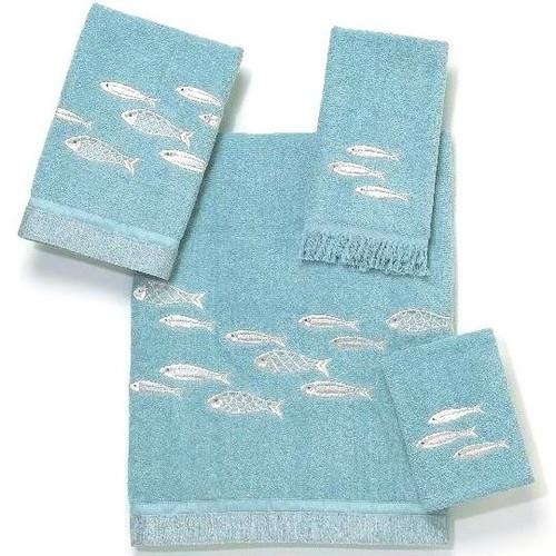 Fish Bath Towel Set Nantucket