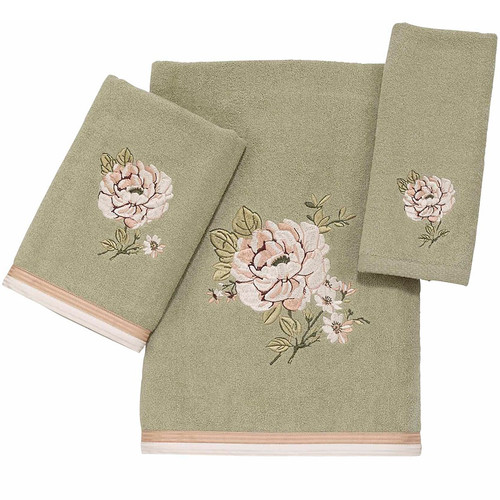 Floral Bath Towel Set Whitehall