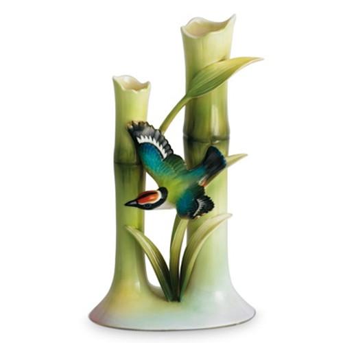 Bamboo Songbird Bud Vase | fz00568