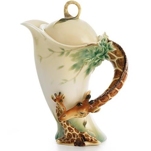 Giraffe Porcelain Teapot   FZ00759