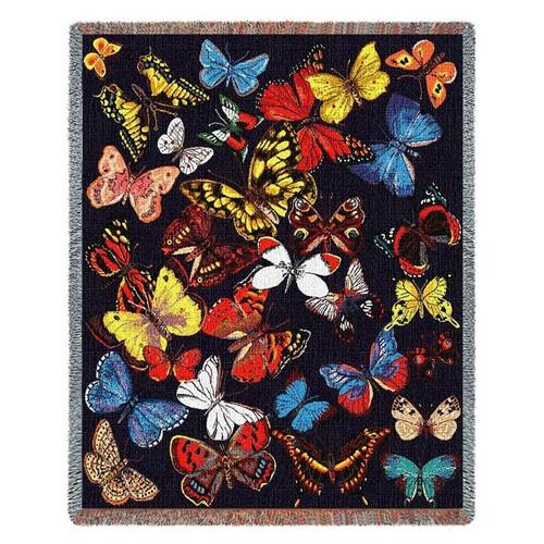 Butterfly Throw Blanket Flutterbies