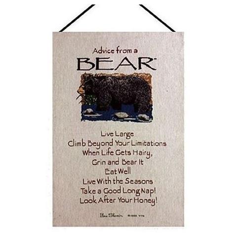 Bear Wall Hanging