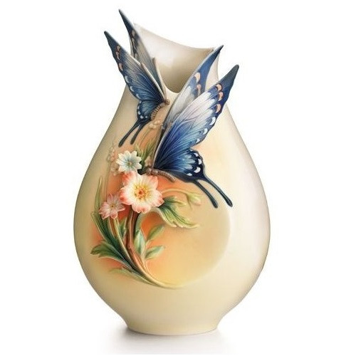 Fluttering Beauty Butterfly Vase | FZ01839