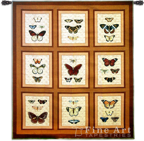 Butterflies Tapestry Wall Hanging
