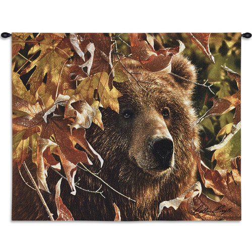"Bear Tapestry Wall Hanging ""Legend of the Fall"""