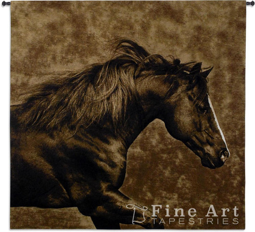 Eastward Gallop Horse Tapestry Wall Hanging