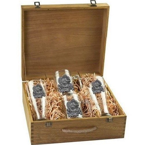Squirrel Beer Glass Boxed Set