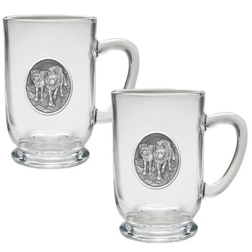 Wolf Coffee Mug Set of 2