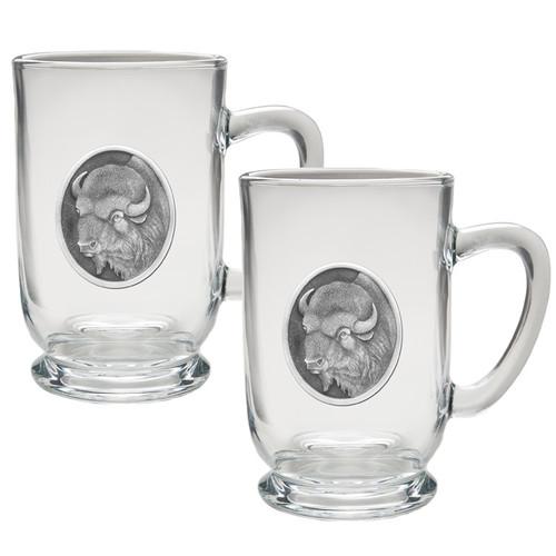 Buffalo Coffee Mug Set of 2