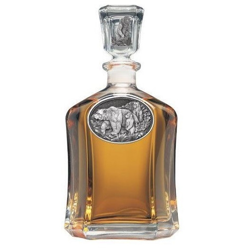 Grizzly Bear Capitol Decanter