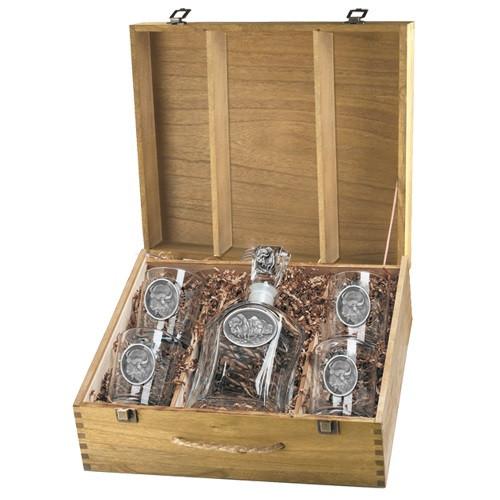 Buffalo Capitol Decanter Boxed Set