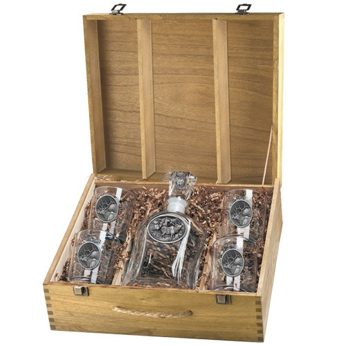 Elk Capitol Decanter Boxed Set