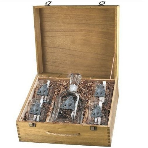 Gorilla Decanter Set | Heritage Pewter | HPICPTB3998