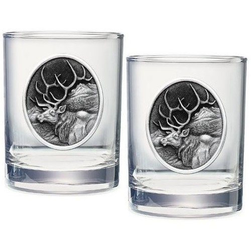 Elk Double Old Fashioned Glass Set of 2