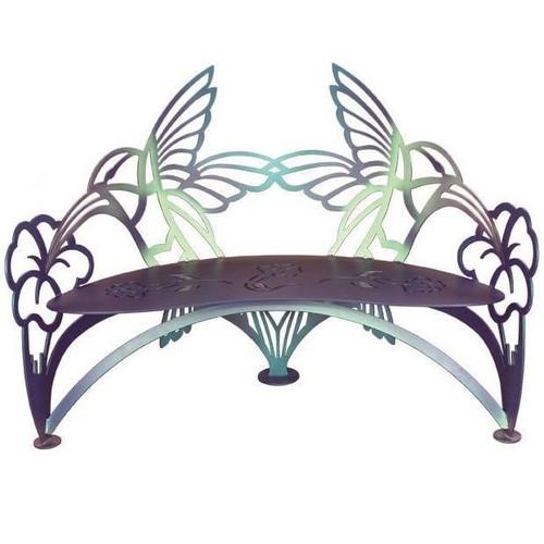 Hummingbird Outdoor Bench