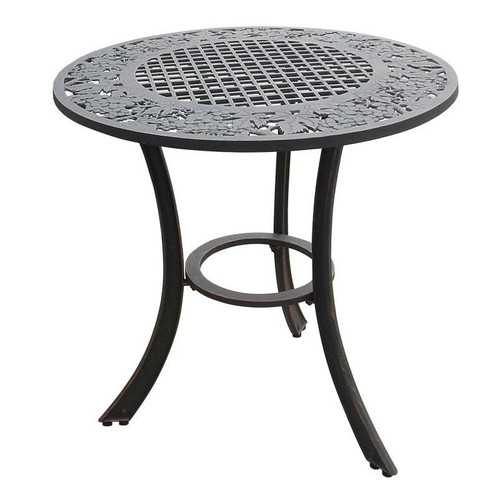 Grape Cluster Design Iron Patio Table