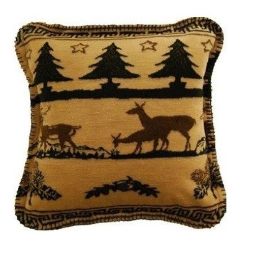Deer Haven Throw Pillow | Denali | DHC35029418