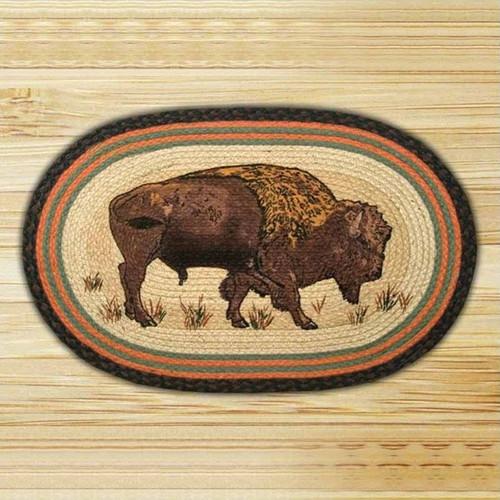 Buffalo Oval Braided Rug