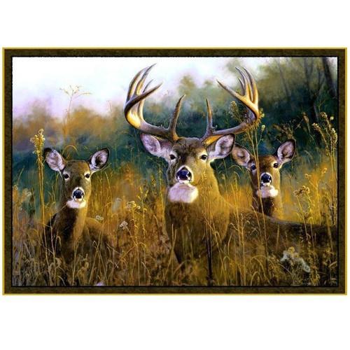 Deer Area Rug Buck Stops Here