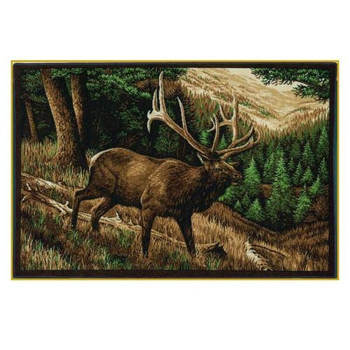 Elk Area Rug Roaming High Country