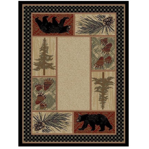 Bear Area Rug Cades Cove - American Destination
